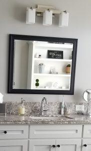 master bath counter fixtures